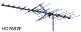 Winegard HD-7696P HD TV Yagi Antenna Directional